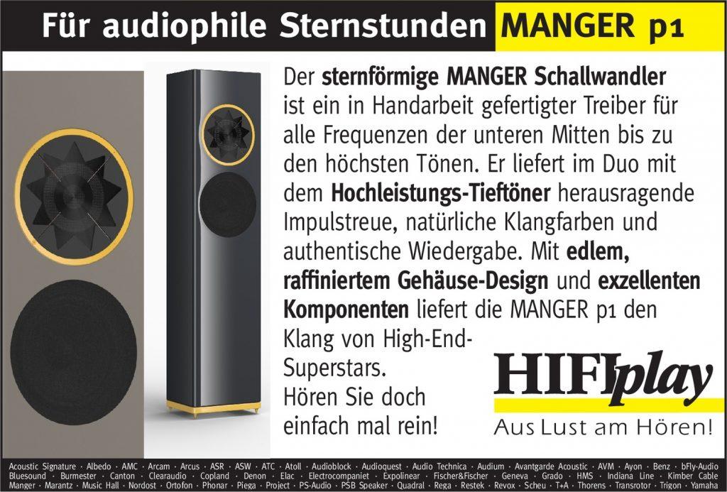 HIFIplay - Ihr HiFi- und High End-Spezialist in Berlin: MANGER p1
