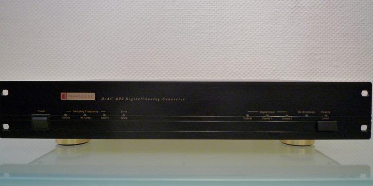 HIFIplay - Ihr HiFi- und High End-Spezialist in Berlin: Parasound DAC 800