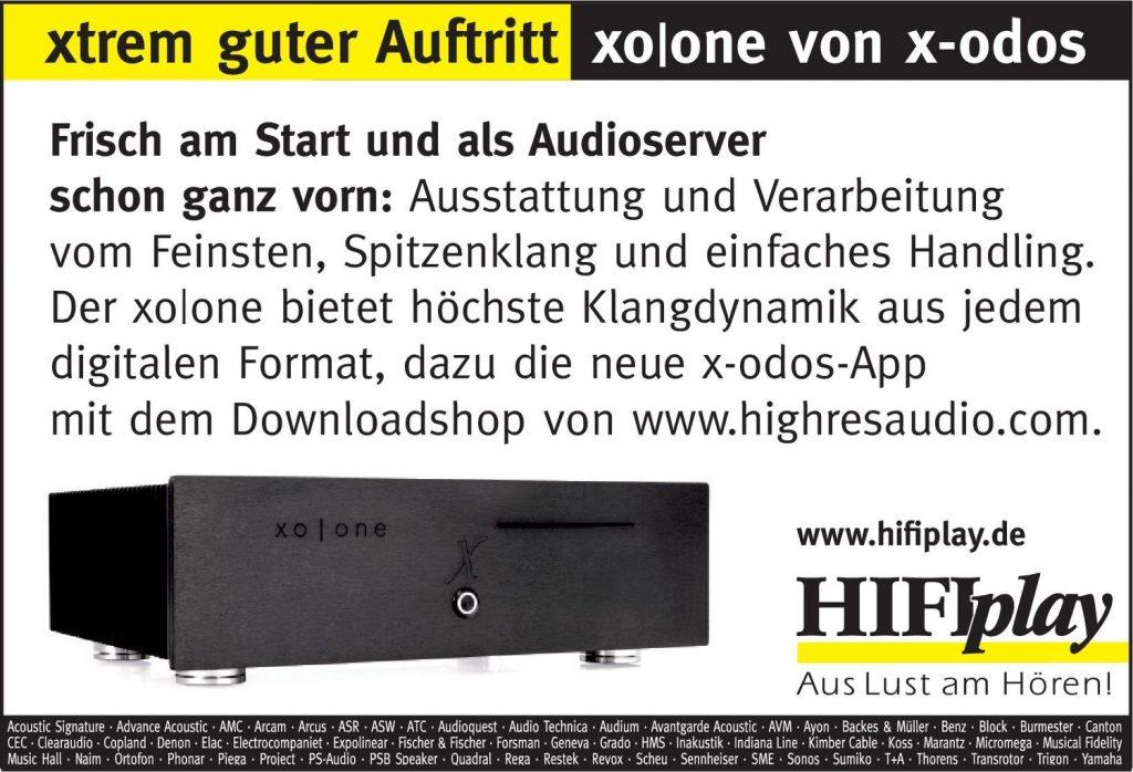 HIFIplay - Ihr HiFi- und High End-Spezialist in Berlin: xo|one von x-odos