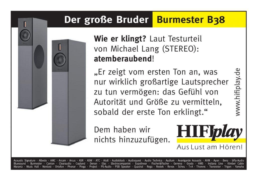 Burmester B38_Fenster